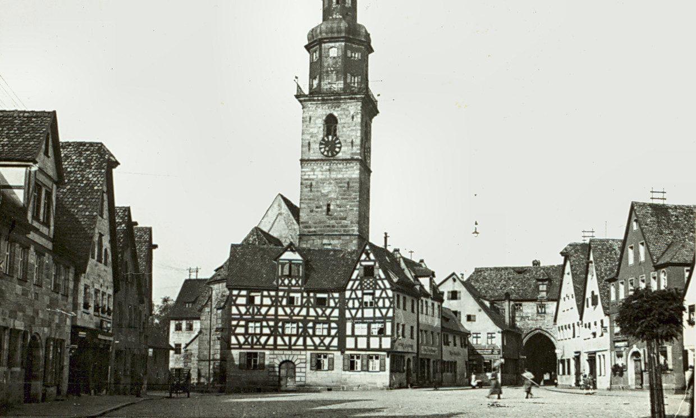 Laufer Marktplatz um 1937